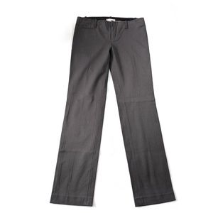 GAP Charcoal True Straight Pants 4